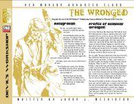 RPG Item: The Wronged (D20 Modern)