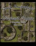 RPG Item: Quick Encounters: Overland Ruins