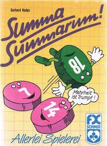 Summa Summarum Board Game Boardgamegeek
