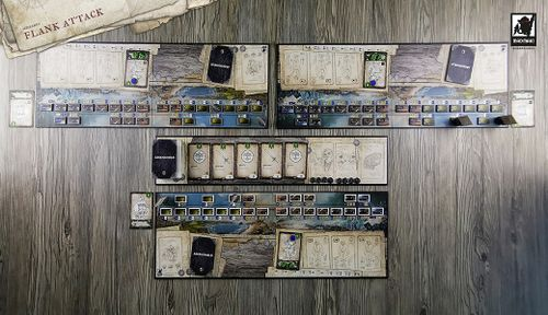 "3-Player mode: Scenario ""Flank Attack"" - Duration: 45-75 min"