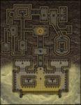 RPG Item: VTT Map Set 007: Desert Tomb