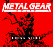 Video Game: Metal Gear Solid (GBC)