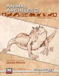RPG Item: Animal Archives Vol. 3: Fantasy Animals