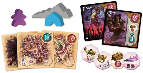 Board Game: Five Tribes: The Artisans of Naqala