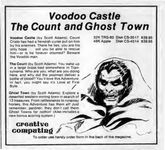 Video Game Compilation: Voodoo Castle, The Count, and Ghost Town, CS-3517