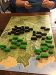 "Scenario W2, ""Taking Carville."" Two companies on each side, Americans facing a tough resistance in taking some towns."