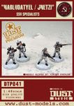 "Board Game: Dust Tactics: SSU Specialists – ""Nabludatyel / Jnetzi"""