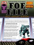 RPG Item: Foe File #03: Jackal Jester