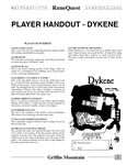 RPG Item: Griffin Mountain Player Handouts