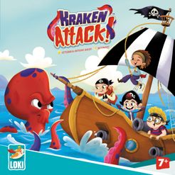 Kraken Attack! Cover Artwork