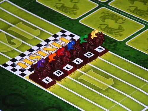 Board Game: Change Horses