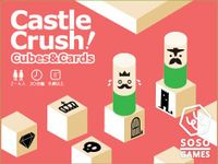Board Game: Castle Crush! Cubes & Cards