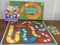 Board Game: Squirmy Wormy