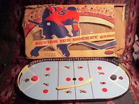Board Game: Action Ice Hockey Game