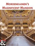 RPG Item: Mordenkainen's Magnificent Mansion
