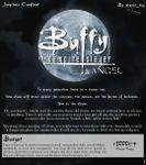 RPG Item: Buffy the Vampire Slayer & Angel - Jumpchain Compliant