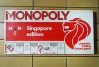 Board Game: Monopoly: Singapore