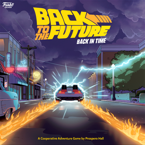 Board Game: Back to the Future: Back in Time