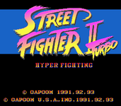 Video Game: Street Fighter II