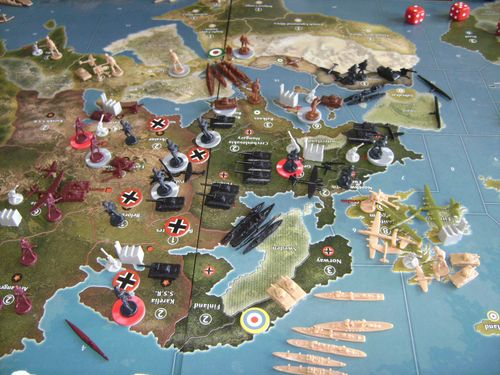 Board Game: Axis & Allies Anniversary Edition
