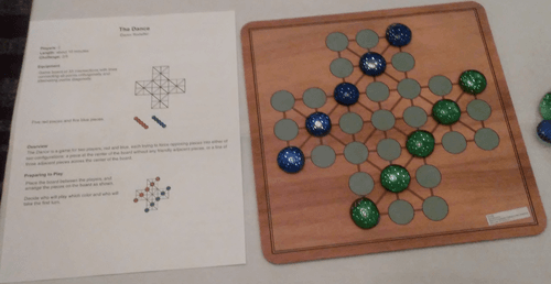 Board Game: The Dance