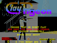 Video Game: Clay Pigeon