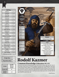 RPG Item: Rodolf's Wagon #2: Rodolf himself