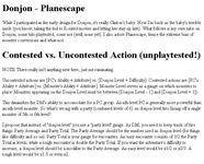 RPG Item: Donjon: Planescape