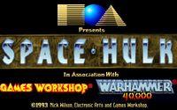 Video Game: Space Hulk (1993)