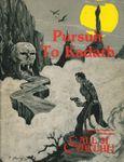 RPG Item: Pursuit to Kadath