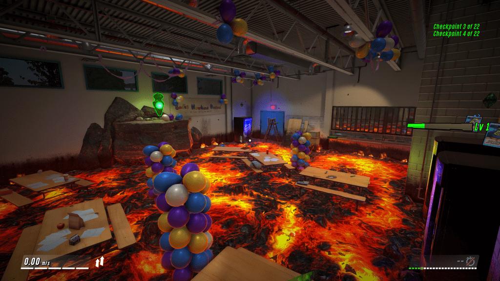 Video Game: Hot Lava