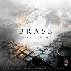 Brass: Birmingham Cover Artwork