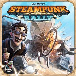 Steampunk Rally Cover Artwork