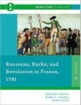 RPG Item: Rousseau, Burke, and Revolution in France, 1791