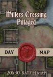 RPG Item: Millers Crossing - Pillaged - Day Map