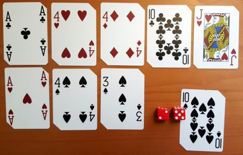 Board Game: Quick Draw Card Game