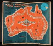 Board Game: Small's Round Australia Motor Contest