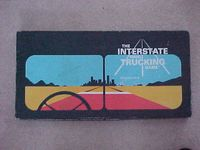 Board Game: The Interstate Haul Trucking Game