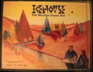 Board Game: Icehouse: The Martian Chess Set