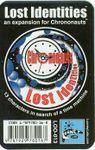 Board Game: Chrononauts: Lost Identities