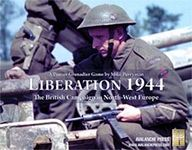Board Game: Liberation 1944: The British Campaign in North West Europe – A Panzer Grenadier Game