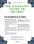 RPG Item: The Assassin's Guide to Poison