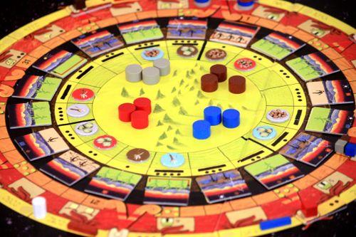 Board Game: Mayan Sun, Aztec Destiny: 500 BC – AD 2012 – Beyond∞