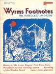 Issue: Wyrms Footnotes (Issue 11 - Volume II, Number 1 - Spring 1981)