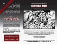 RPG Item: B2: Minotaur Meat