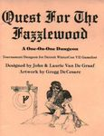 RPG Item: Quest for the Fazzlewood