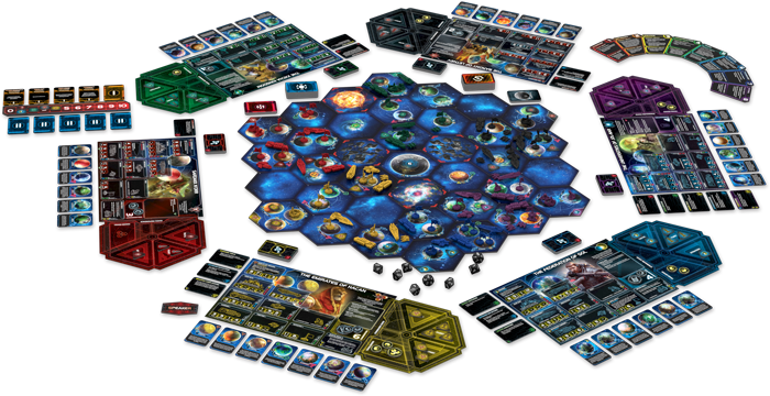 Twilight Imperium (Fourth Edition), Fantasy Flight Games, 2017 — gameplay example