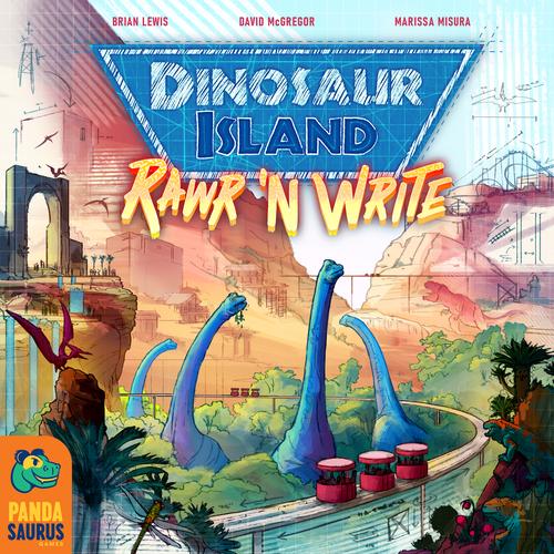 Board Game: Dinosaur Island: Rawr 'n Write