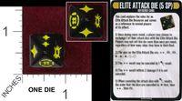 Board Game: Star Trek: Attack Wing – Elite Attack Die Resource