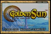 Video Game: Golden Sun: The Lost Age